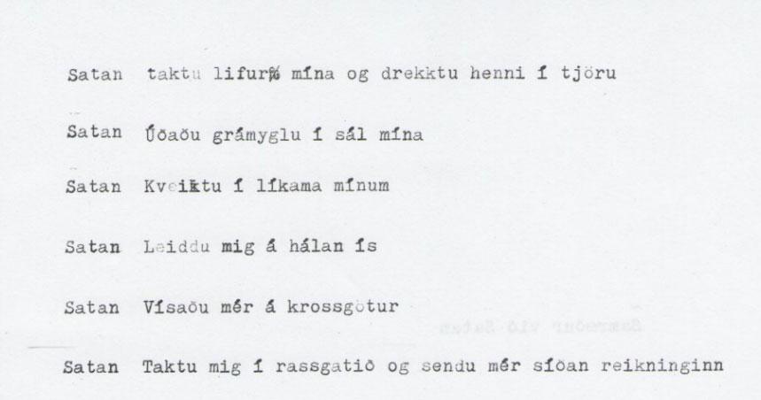 Úr Samræðum við Satan. http://issuu.com/leifurymir/docs/samr__ur_vi__satan