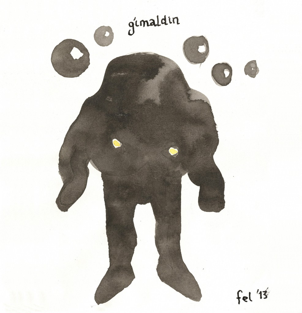 Plötuumslag Gímaldins!
