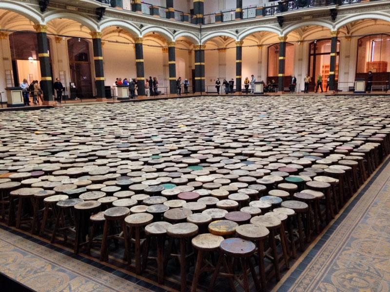 Kollarnir hans Ai Weiweis.