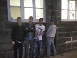Pink Street Boys míga á Alþingi